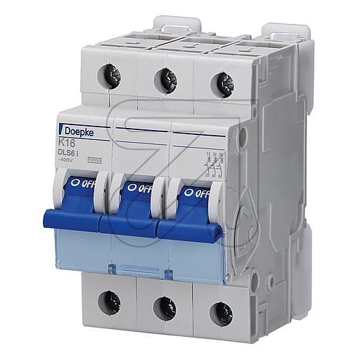 DoepkeAutomat 3-p. 16A DLS6IK16-3 10KA