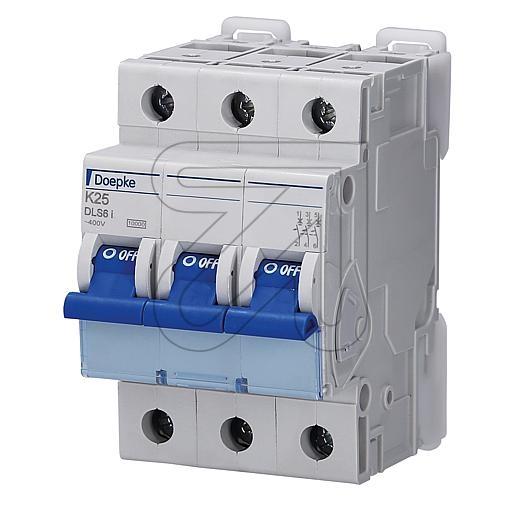 DoepkeAutomat 3-p. 25A DLS6IK25-3 10KA