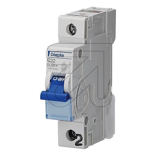 Doepkeautomat 1-p. 32A DLS6HC32-1 6KA