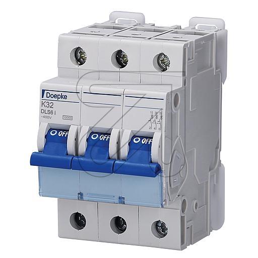Doepkeautomat 3-p. 32A DLS6IK32-3 10KA
