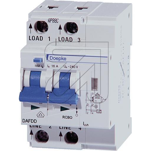 DoepkeFire circuit breaker DAFDD B10/0,03/2-A 09961102