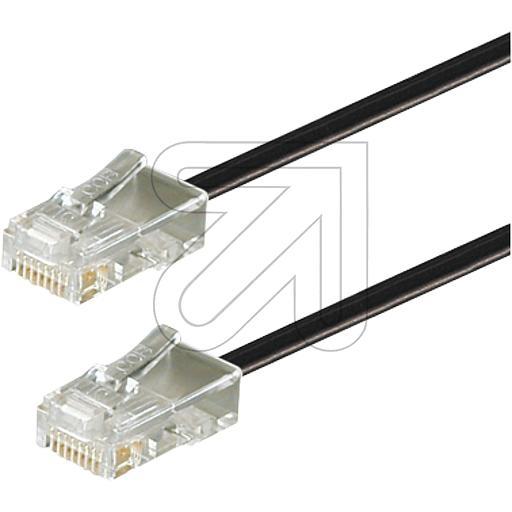 EGB Telefon-Anschlußkabel Western 6/4- Western 6/4 3 m 243570