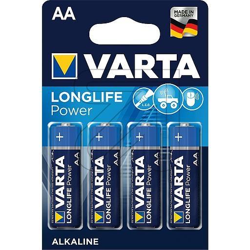 VartaLONGLIFE Power AA 04906121414/4906110414 (Mignon)->Preis für 4 STK!EUR 0.56 je STK