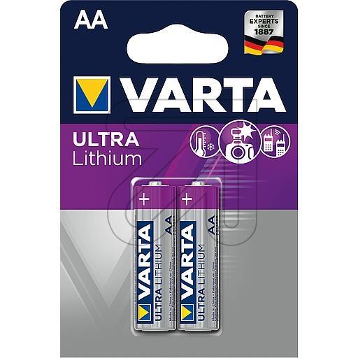 VartaULTRA LITHIUM AA 06106301402 (Mignon)->Preis für 2 STK!EUR 2.00 je STK