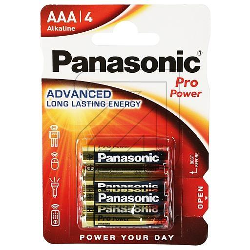 PanasonicPro-Power Micro LR03PPG/4BP->Preis für 4 STK!EUR 0.49 je STK