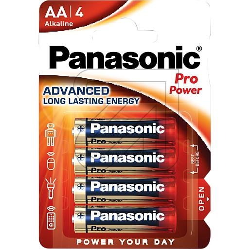 PanasonicPro-Power Mignon LR6PPG/4BP->Preis für 4 STK!EUR 0.49 je STK