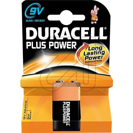 Duracell9V-Block Plus Power 81478255 /-10548