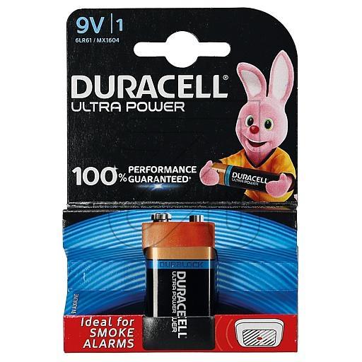 Duracell 9V-Block Ultra Power 81478216 373600