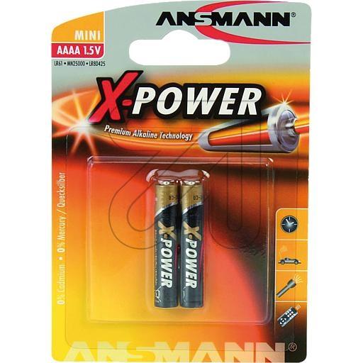 AnsmannAlkali-Batterie AAAA/Piccolo 1510-0005->Preis für 2 STK!EUR 0.78 je STK
