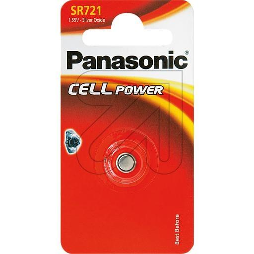 PanasonicKnopf-Zelle SR721EL/1B (362)