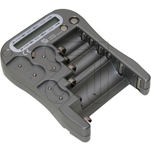 MWBatterie-Prüfgerät MW 333/LX5900/Digi-Tester