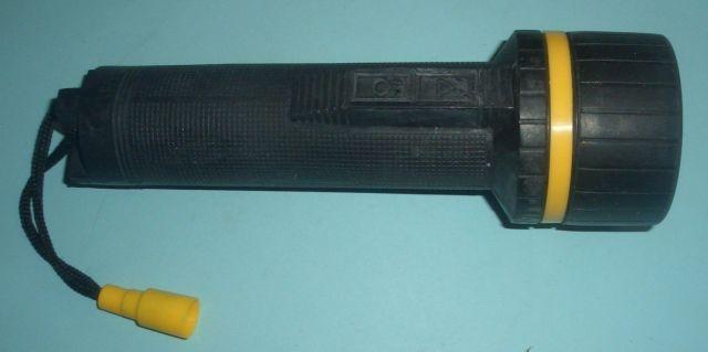 RubberTorch2 x Mono 5521 Gummitaschenlampe