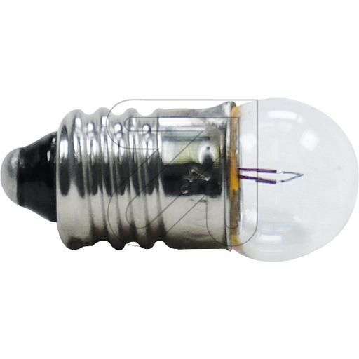 EGBKugellampe 4.8 V 0.3 A Kugellampe E10 4,8V 0,3 A