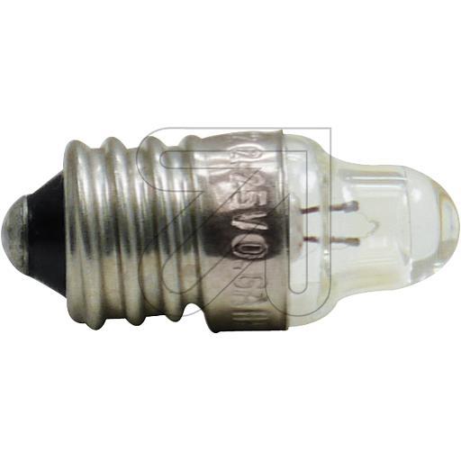 EGBSpitzlinsenbirne 2.5 V 0.3A Spitzlinsen-Birne E10 2,5V 0,3 A