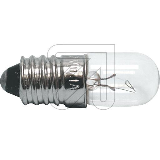EGBRöhrenlampe 7V 0,1A Röhrenlampe E10 _7 V 0,1 A