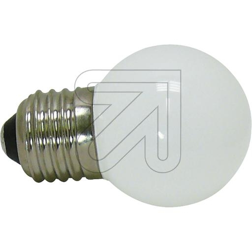 EGBLED-Tropfenlampe E27 weiß 30-9006