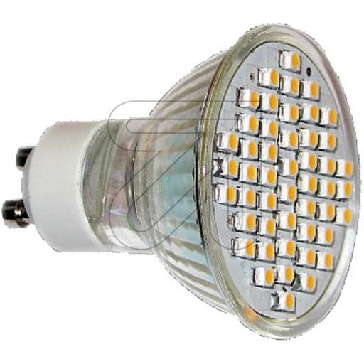 EGB LED Lampe GU10 SMD High Power LED ws mit Schutzgla 528785L