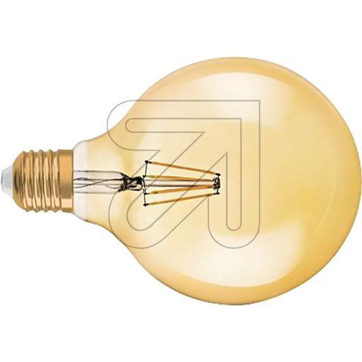 OsramVintage 1906 LED DIM Globe 125 Gold 7W/825 5808997 (972698)EEK:A+