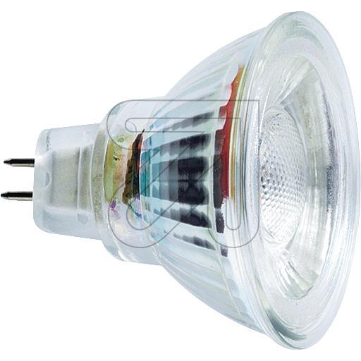 EGBLED Lampe GU5,3 MCOB 36° 5,3W 290lm/90° 2700K geeignet für AC/DC-Betrieb !