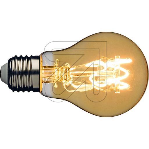LUXATropfenlampe Spiral Filament LED 4W E27 44081EEK:A