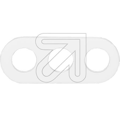 EGBDreiloch-Scheibe weiß 2222.3212.0068.4024->Preis für 10 STK!EUR 0.16 je STK
