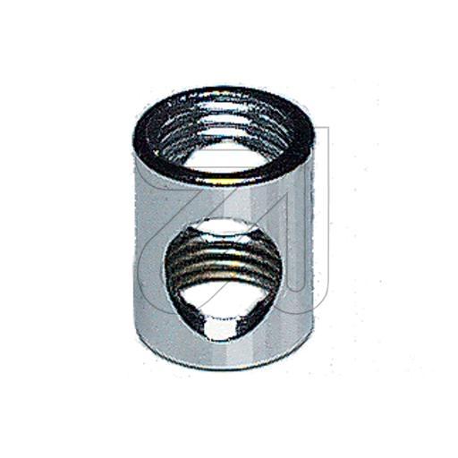 BendlerAuslaß-Muffe 12x16 chrom Auslaß-Muffe M10/M10 chrom
