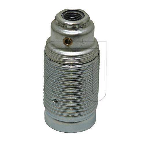 EGBMetall-Fassung Außengewinde E14 chrom Metall-Fassung E14 Mad