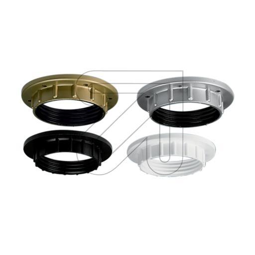 ElectroplastIso-Fassungs-Ring E27 weiß->Preis für 5 STK!EUR 0.25 je STK