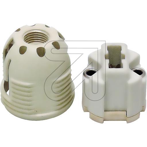EGBHochvolt-Fassung G9, Aussengewinde 26mm mit Aufrastkappe und->Preis für 5 STK!EUR 1.80 je STK
