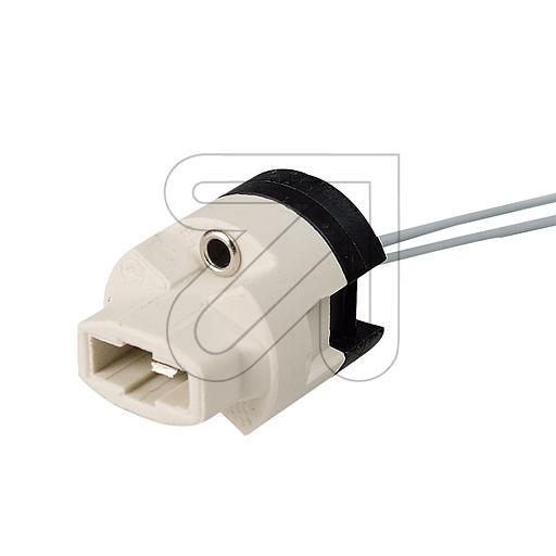 EGBHochvolt-Fassung G9 mit Kunststoffsockel->Preis für 5 STK!EUR 2.53 je STK