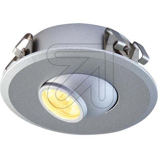 EVNLED-Einbauleuchte silber 3000K 1W P20011402EEK: A++ (LED)