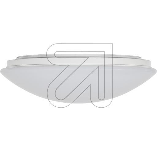 EVNLED-Kunststofflleuchte weiß IP44 4000K 18W L360180140EEK: A-A++ (LED)