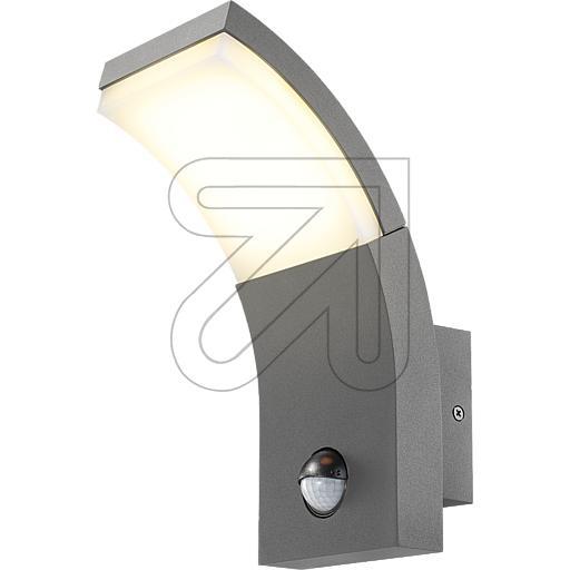 esotec GmbHLED-Wandleuchte Slim Line anthrazit IP54 3000K 7W 201150 mitEEK: A-A++ (LED)
