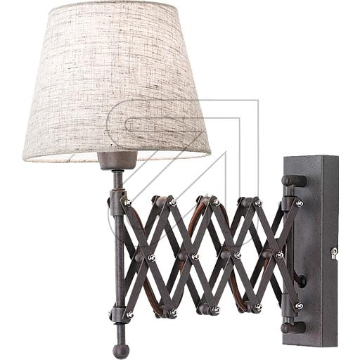 ORION Licht Textil-Wandleuchte WA 2-1355/1 Antik 625310