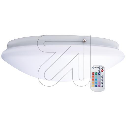 EGB LED RGB+WW-Kunststoffleuchte IP44 D330mm 18W 1350l 627400