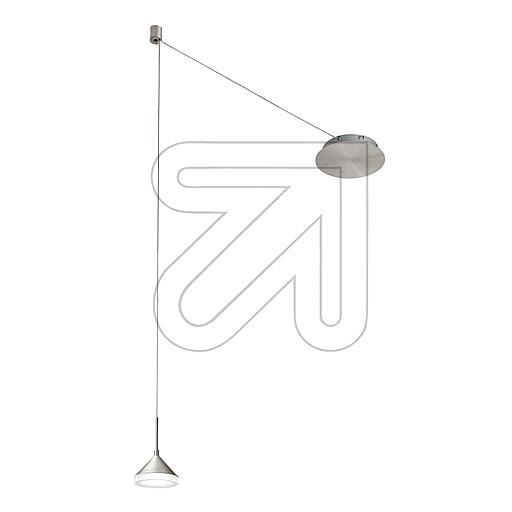 Fabas Luce S.P.ALED-Pendelleuchte aluminium 3000K 8W 3410-41-212EEK: A-A++ (LED)
