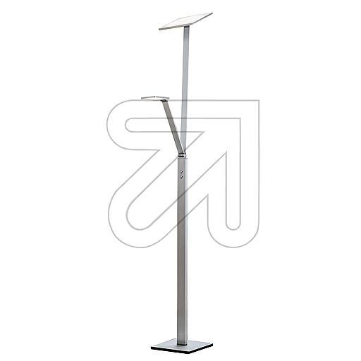 ORION Licht LED-Stehleuchte Alu-matt 3000K 33W Stl 12-1159/2 633240