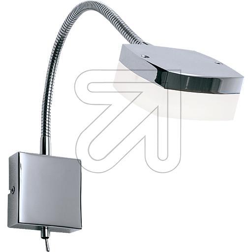 ORION Licht LED-Wandleuchte chrom 3000K 5W WA 2-1329 Chrom mit 635335