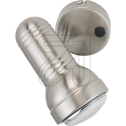 ORION Licht Metall-Strahler R63 1flg satin STR 10-296/1 647900