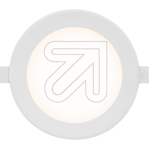 EVNLED-Einbauleuchte weiß 10W 3000K L090 01 02EEK: A+ (LED)