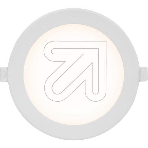 EVNLED-Einbauleuchte weiß 17W 4000K L150 01 40EEK: A+ (LED)