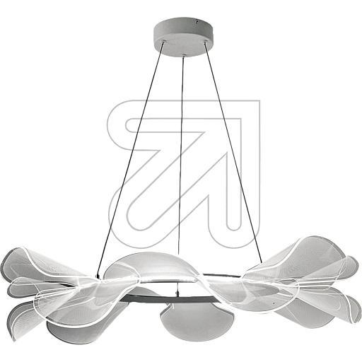 Fabas Luce S.P.ALED-Pendelleuchte Sylvie mit Acrylflügel weiß 2700K 30W 3626EEK: A-A++ (LED)