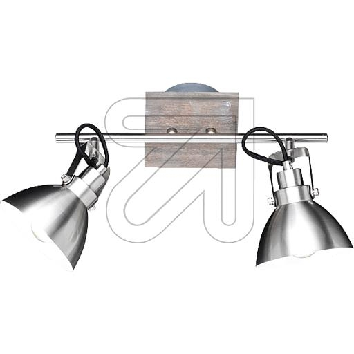 TRIO Strahler Timber nickel/holz 2flg 805000230 678485