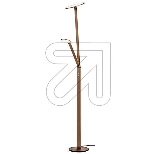 ORION Licht LED-Stehleuchte 3000K 32W Stl 12-1157/2 Alu-bronze 679245