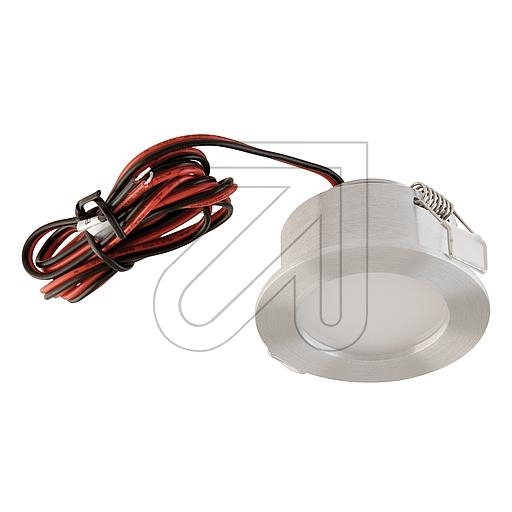 EVNLED-Deckeneinbauleuchte alu 3000K 3W P220302EEK: A-A++ (LED)