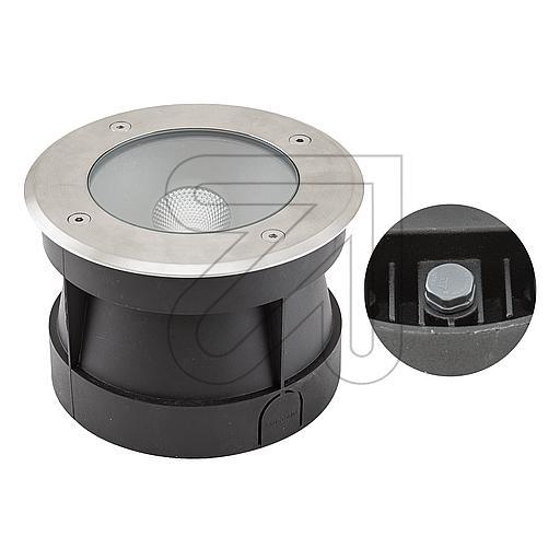EVNLED-Bodeneinbauleuchte aluminium IP67 3000K 14W PC67101402EEK: A-A++ (LED)