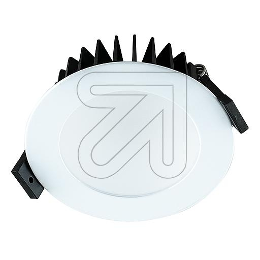 EVNLED-Einbauleuchte IP44 weiß 2700-6500K 8W L4408010125EEK: A-A++ (LED)