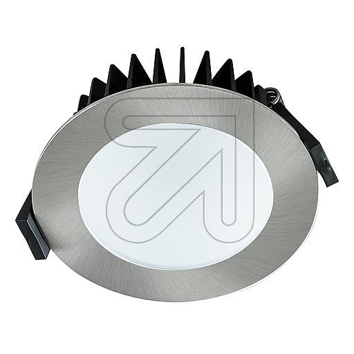 EVNLED-Einbauleuchte IP44 chrom 2700-6500K 8W L4408130125EEK: A-A++ (LED)