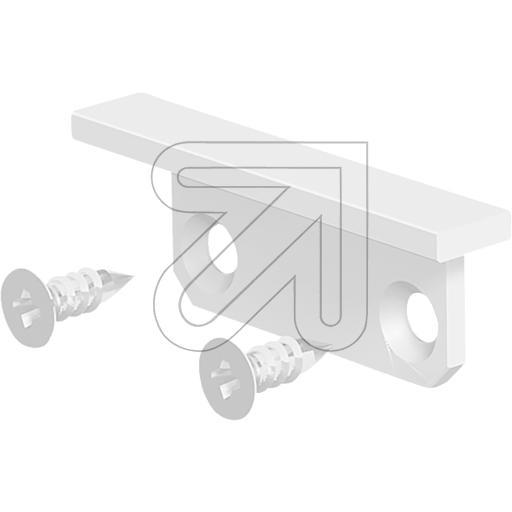 EVNEndabschlussplatte 24,5x9x4,2mm weiß APXSTWEAPEB