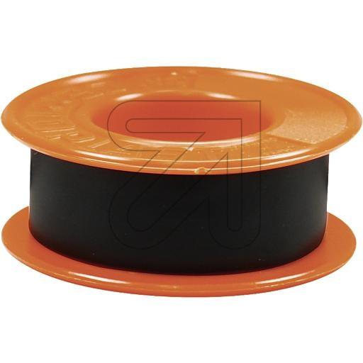 Certoplast Isolierband schwarz 4,5 mtr VDE mit Seitenscheiben 720010L